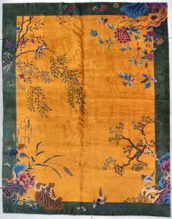 7782 Art Deco Chinese Rug