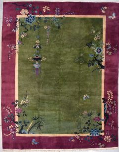 7799 Art deco Chinese rug