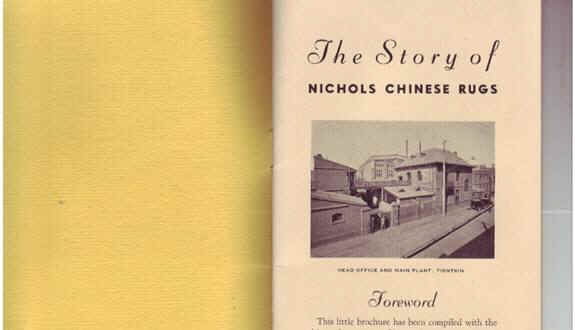 Story of Nichols Rugs fly cover