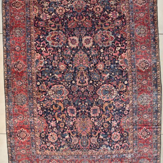 7802 Sarouk rug image closer