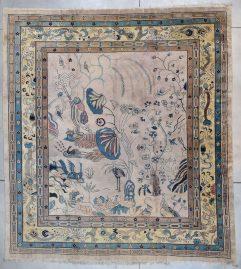 7807 Chinese Art Deco Art Nouveau rug