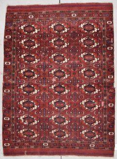 antique TurkomenTekke rug image