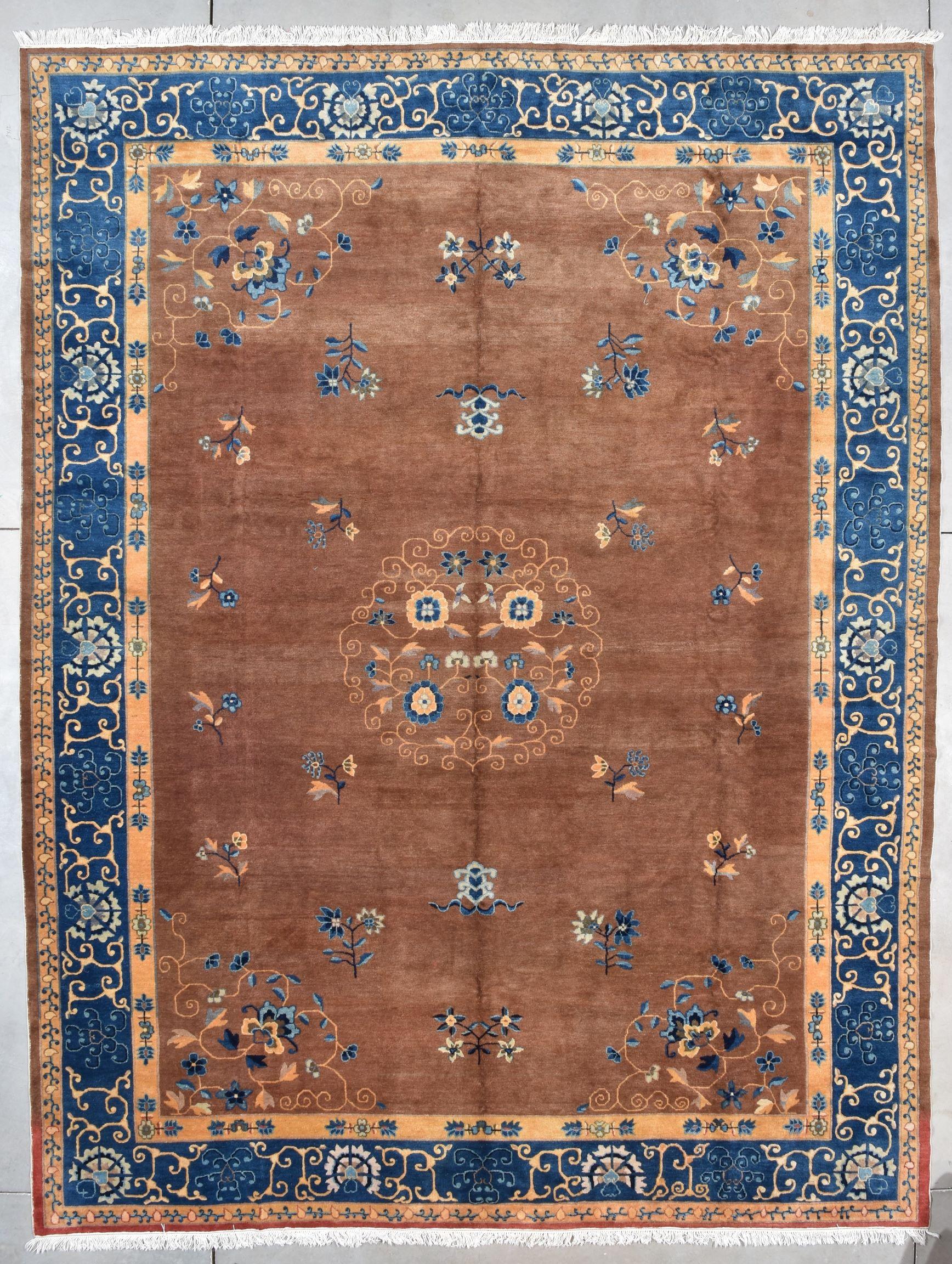 7812 Peking Chinese Oriental Rug 10 1 X