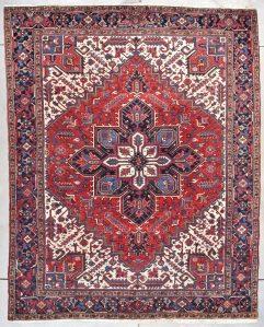 7813 Heriz rug image