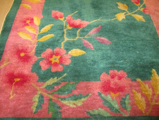 close up images art deco chinese rug 7828