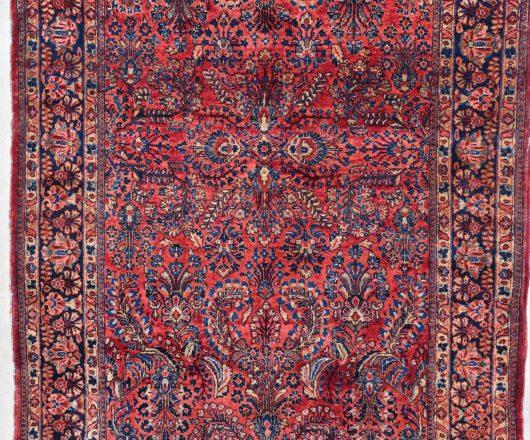 7847 Sarouk rug closeup image