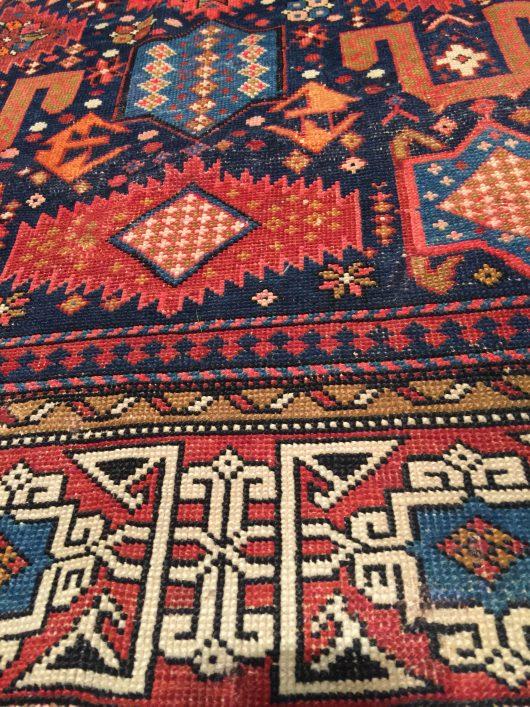 7855 Shirvan rug image detail
