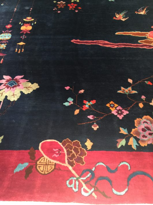 7856 art deco chinese rug images