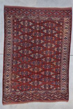 7844 Yomud turkomen rug image