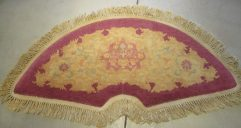7858 Peking Chinese fan rug image