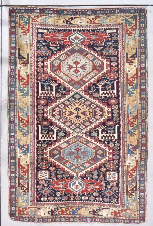 shirvan antique rug image