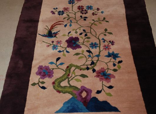 7870 art deco chinese rug closeup images