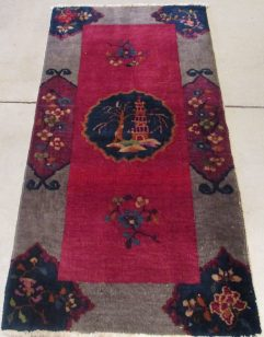 7872 art Deco Chinese rug