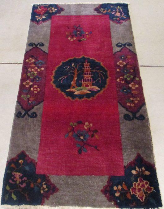 7872 art Deco Chinese rug