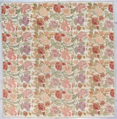 7876 European chain stitch French rug