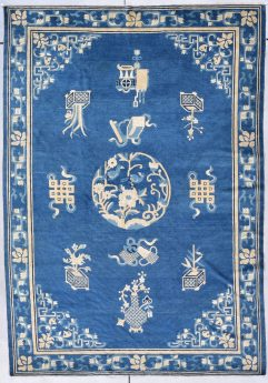 very antique 7874 peking chinese rug image