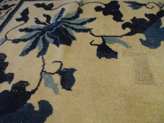 Peking rug image closeups