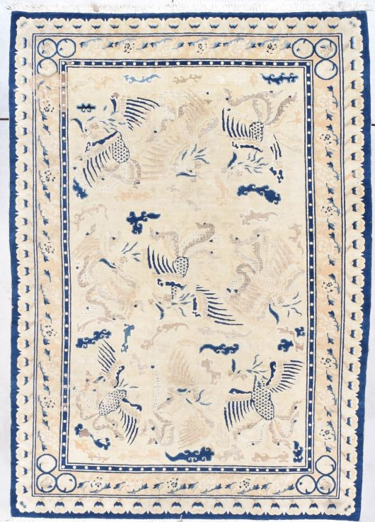 7888 peking chinese ghost rug