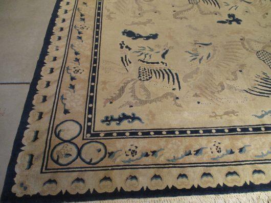 peking rug detail image