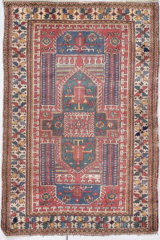 antique bergama rug image 7890