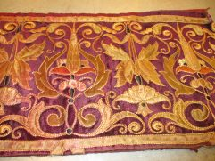 7903 antique cut velvet and silk tapestry image