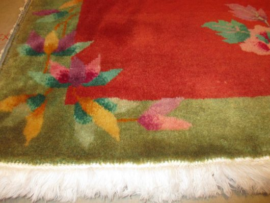 7910 art deco chinese rug closeups
