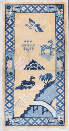 913 peking rug Mongolian design