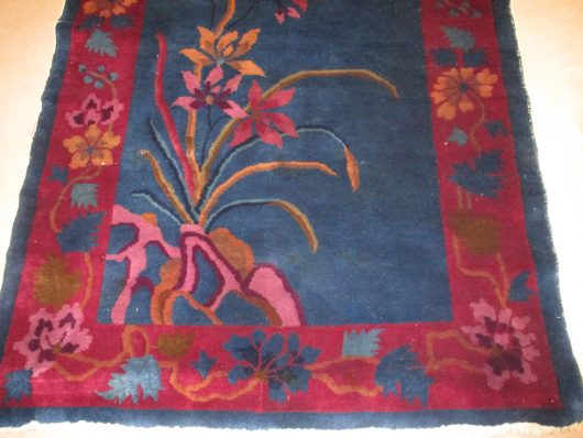 7925 art deco chinese rug close up photo