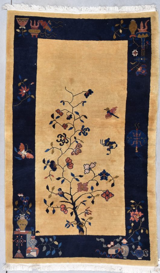 7927 Art deco chinese rug photograph