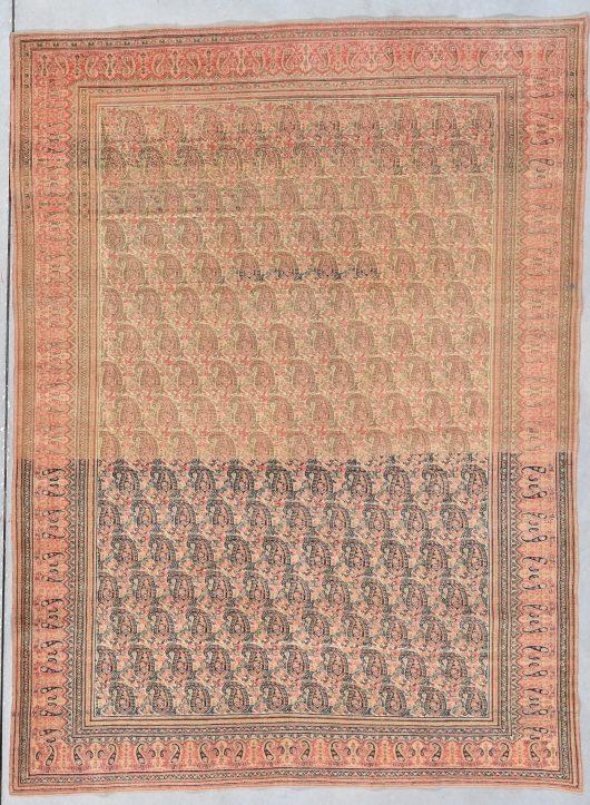 7930 Khorassan antique rug