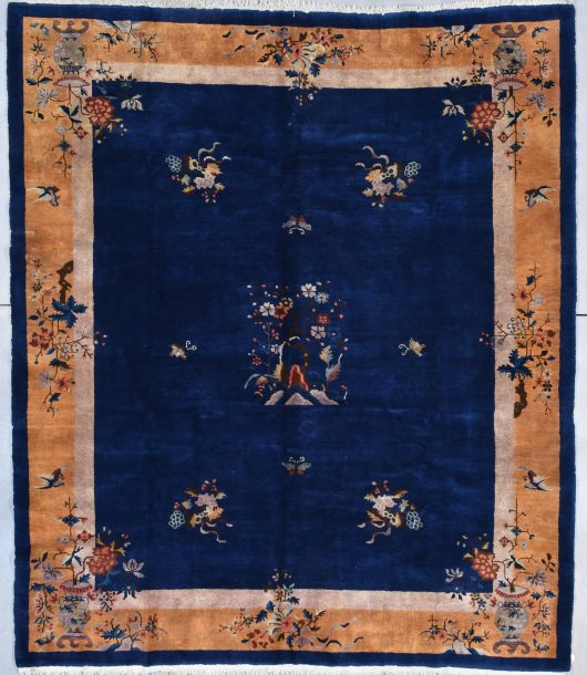 7931Art deco chinese rug picture