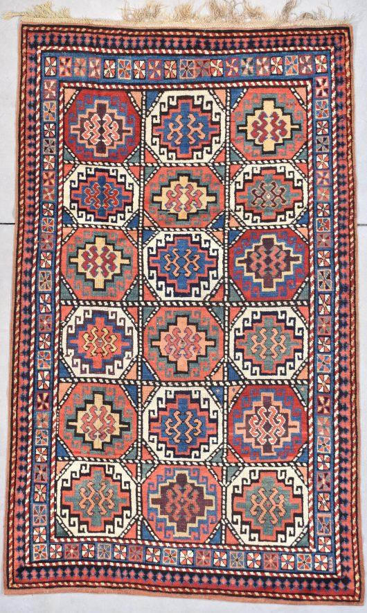 7894 mogan kazak oriental rug image