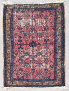 7979 Hamadan rug worn