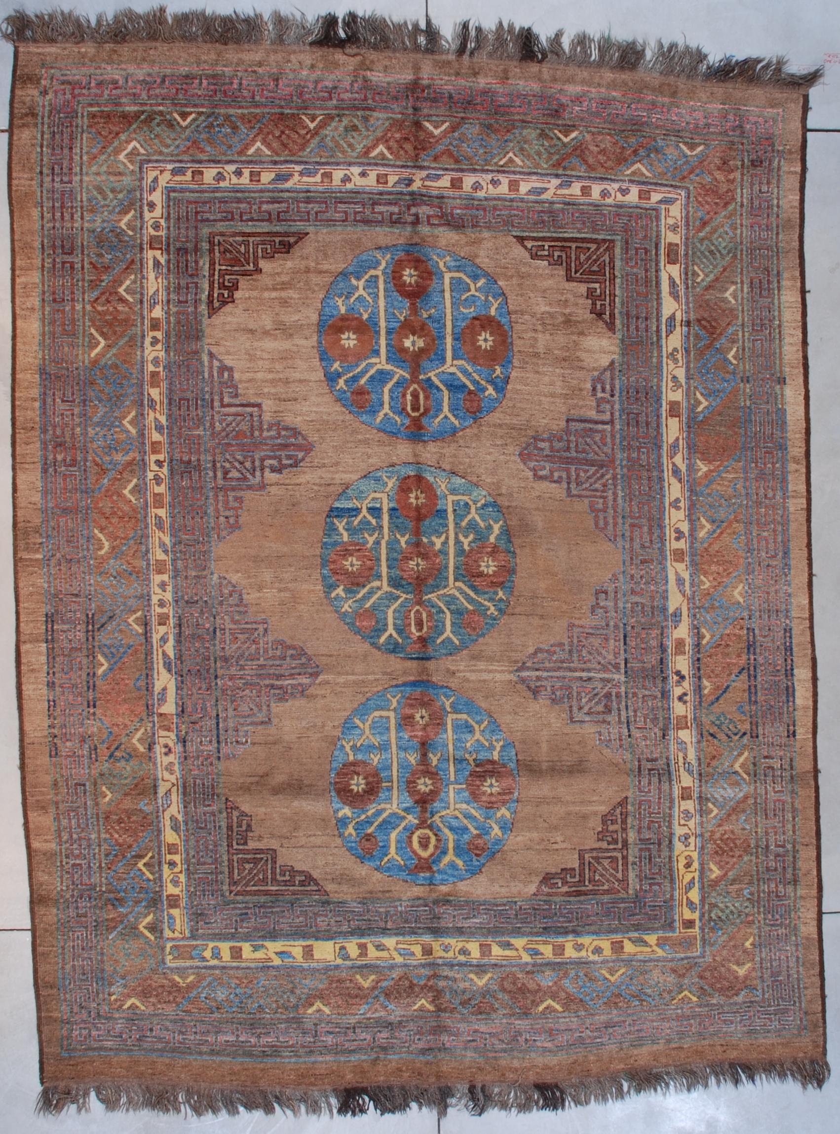 5125 Afghan Khotan rug carpet