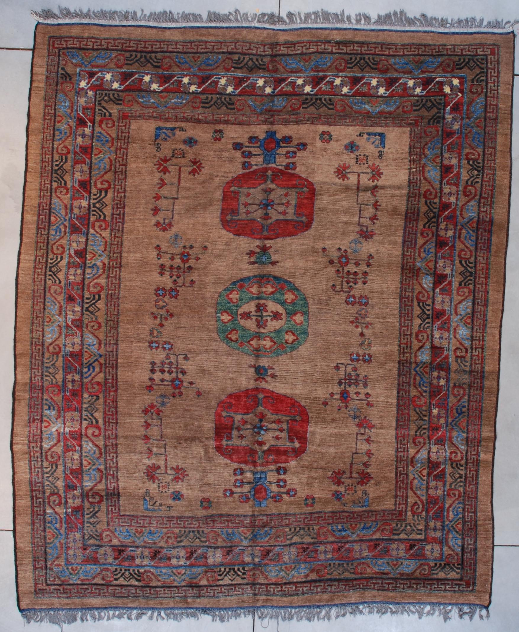 5128 Afghan Khotan carpet image