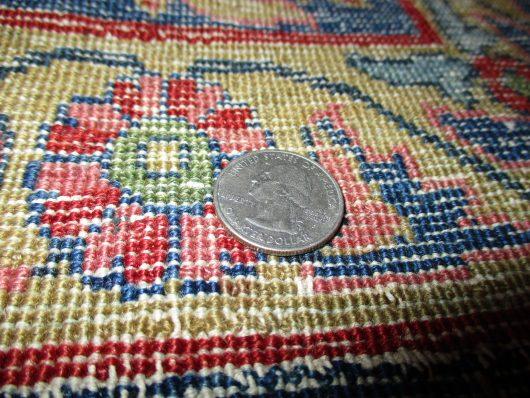 7992 sarouk antique rug closeup pictures