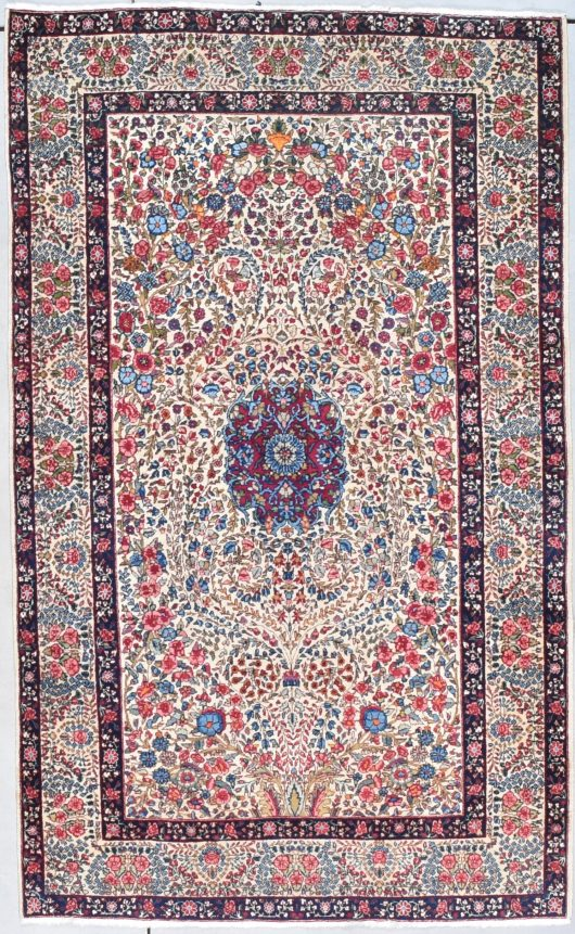 7993 Laver Kerman oriental rug image raver kirman