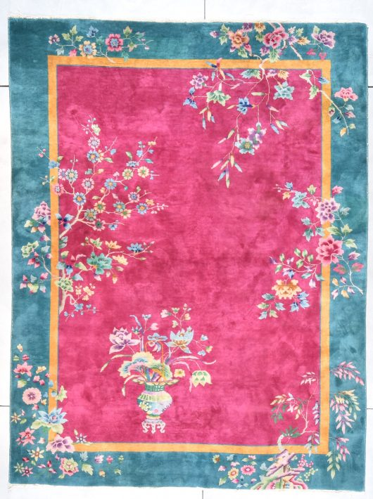Art Deco Chinese rug