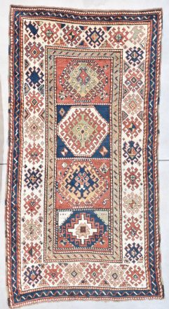 7997 antique kazak rug