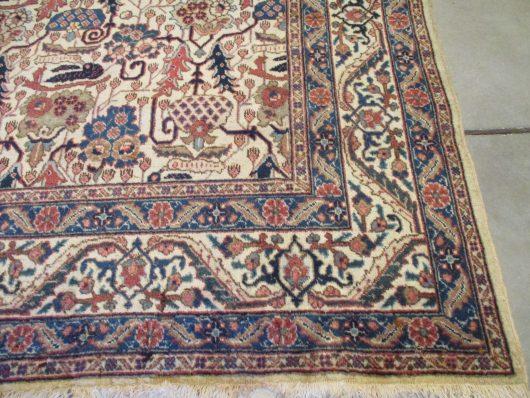 7999 Tabriz closeups rug image