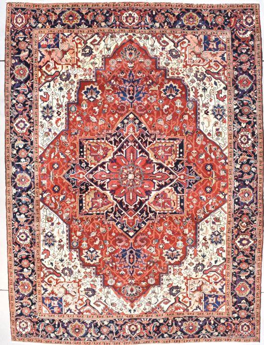 8001 Heriz rug image