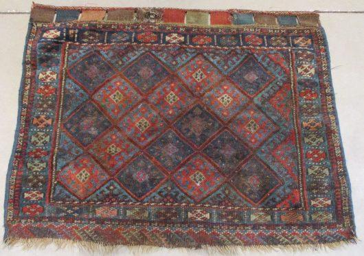 8015 antique kurd bag face oriental rug image