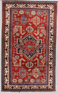 7623 Kazak Akstafa motif