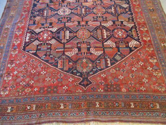 8025 afshar rug image closeups