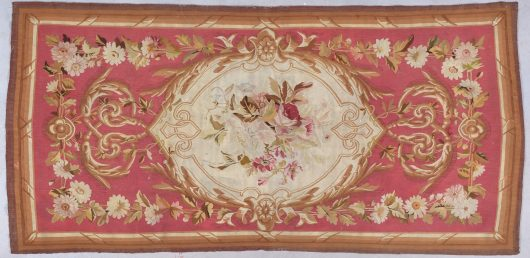 8033a Aubusson tapestry antique