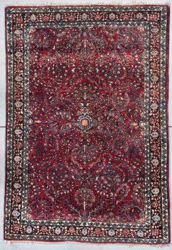 8043 Persian Sarouk area carpet image